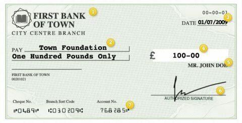 Денежный чек